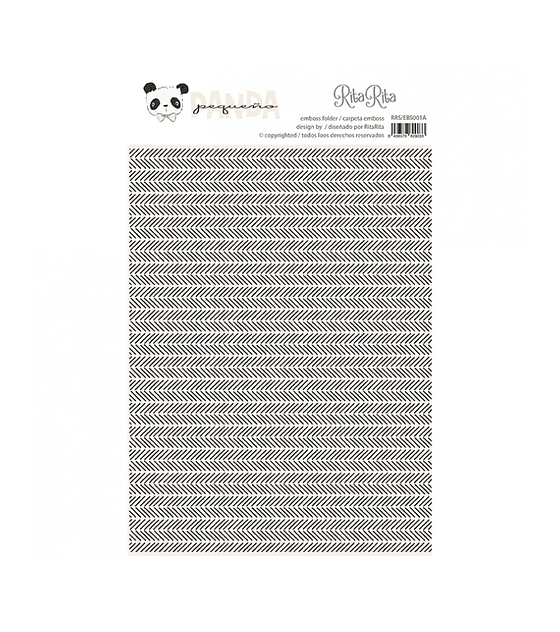 Carpeta de emboss ZigZag Panda