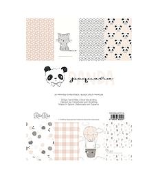 Bloc pequeño Panda rosa
