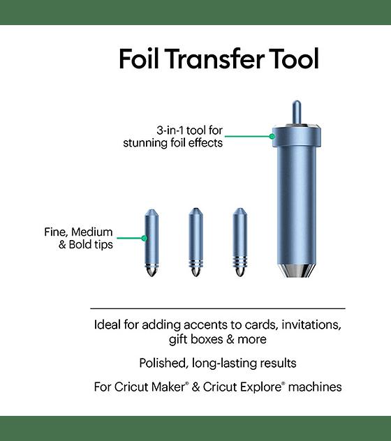 Cricut Kit de Transferencia de Folia / Foil