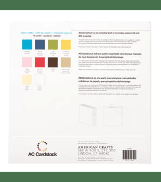 AC Cardstock Jewel Tone Pack 12×12
