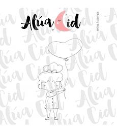 Sello we love de Alúa Cid