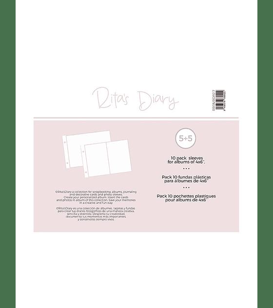 Fundas MIX bolsillos para 4x6 RitasDiary