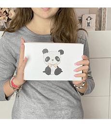 Carpeta 4x6 Panda osito