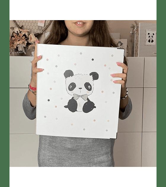 Carpeta 9x12 Panda osito