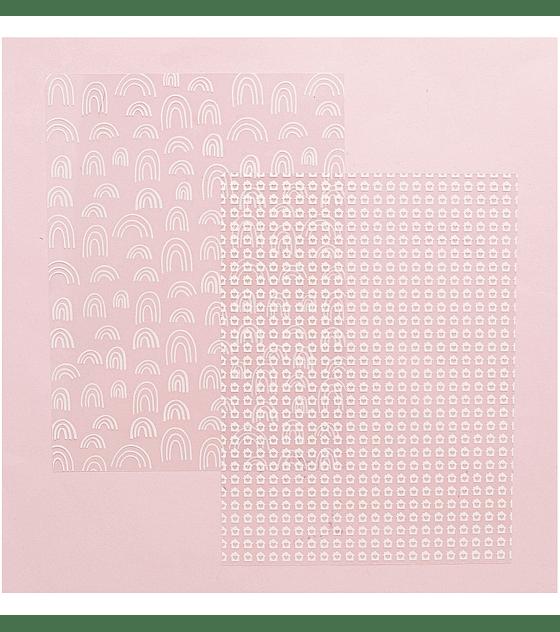 Pad 6x8 vellum y acetatos My Story
