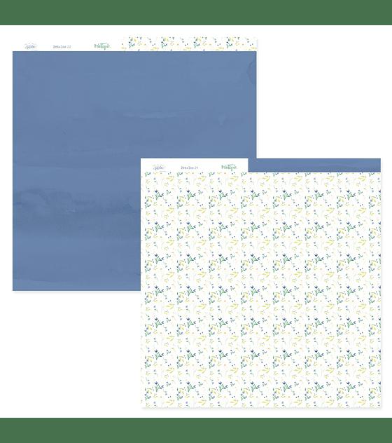 Pad 12 x 12 Pétalos