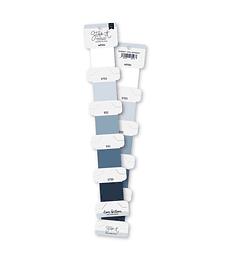 Set hilos de bordar Azul Grisáceo