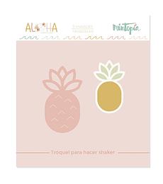Troquel Mintopía Aloha Piña shaker
