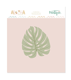 Troquel Mintopía Aloha Monstera