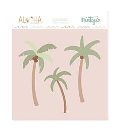 Troquel Mintopía Aloha Palmeras