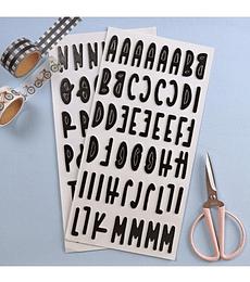 Alfabeto Chipboard