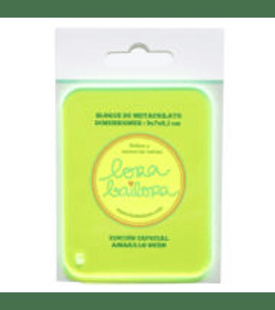 Metacrilato Amarillo Fluor 9×7 cm Grosor 3 mm
