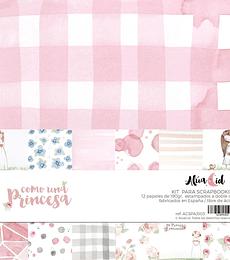 Kit Papeles Como una Princesa