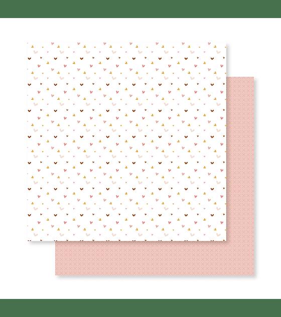 Kit 12 papeles estampados a doble cara 30,5 x 30,5 Abril