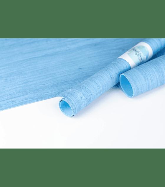 Ecopiel Azul Madera 30 x 50 cm