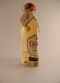 C6109-Miniatura de garrafinha de wiskey Grants