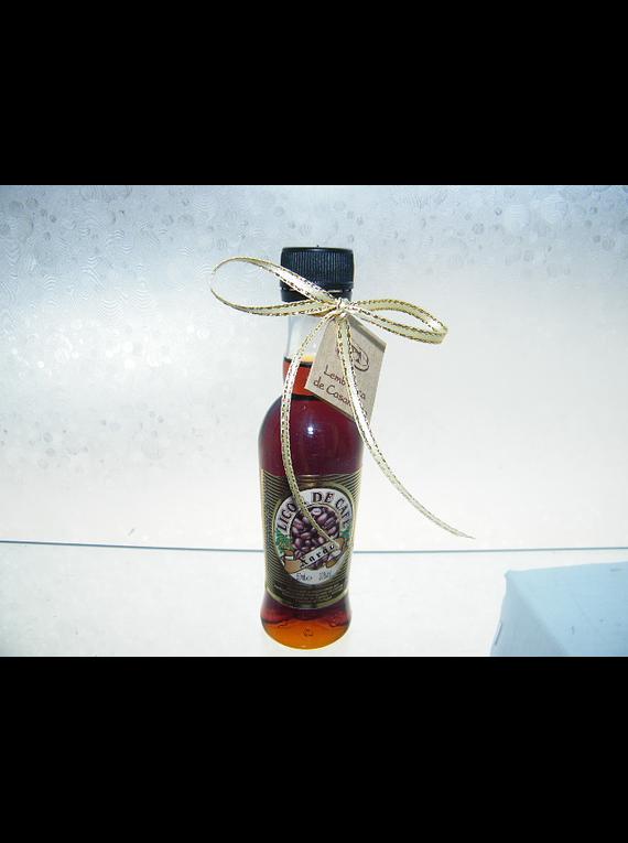 C6155 - Garrafinha com Licor de Café decorada