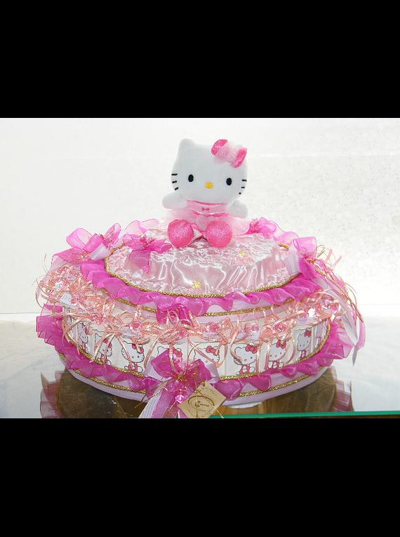 C5999 - Estrurura de bolo Hello Kitty