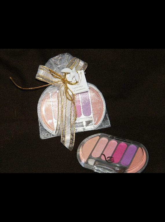 C13033 - Saco organza com sombra decorada com aliança pomba