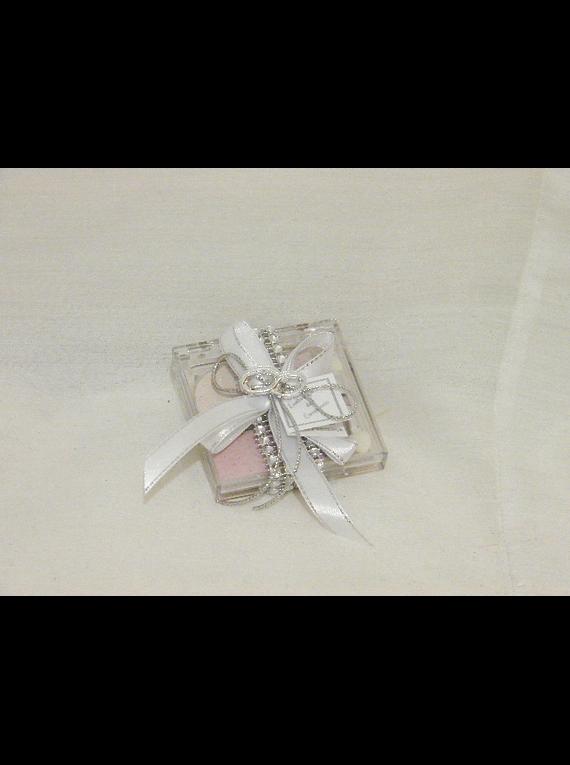 C14050- Sombras decorado com brilhantes prata