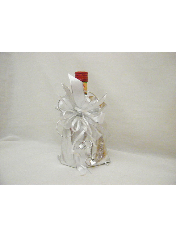 C14705- Garrafa licor beirão no saco prateado
