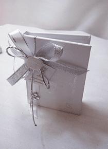 C14330 - Livro de notas em branco com capa dura e inscrição