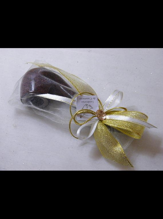 C15607 - Cachimbo em saco de organza decorado