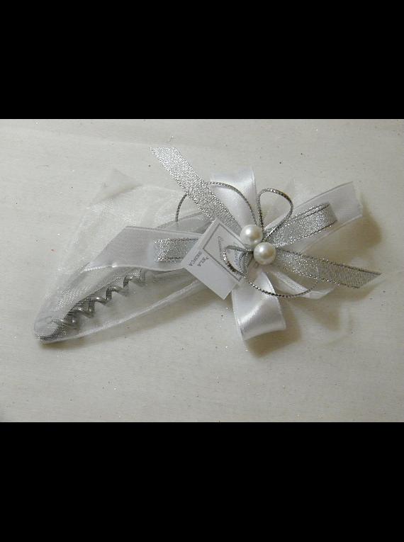 C15609 - Saca-rolhas em saco decorado
