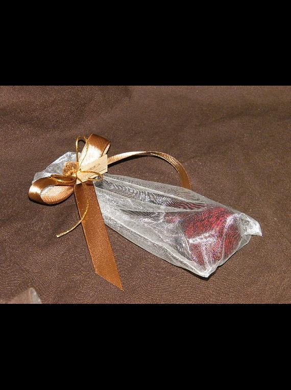 C13600 - Cachimbo no saco de organza