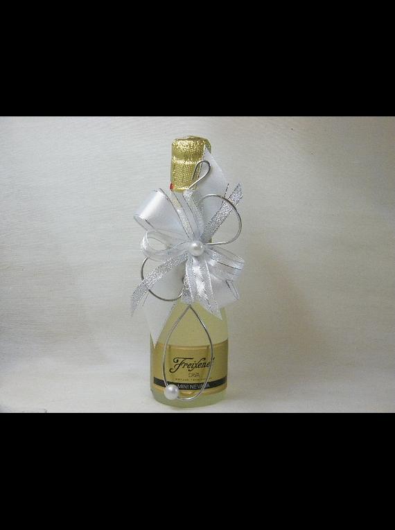N14023 - Garrafa Vinho Espumante decorada