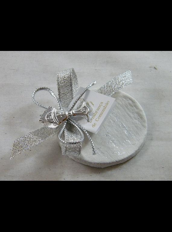 C15335 - Hóstia decorada em prata com ostensório