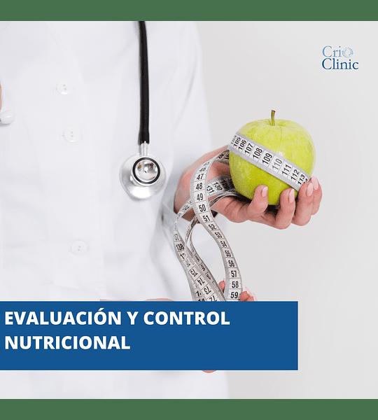 Evaluación y Control Nutricional