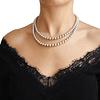 Collar Plata Italiana 925 Bolitas