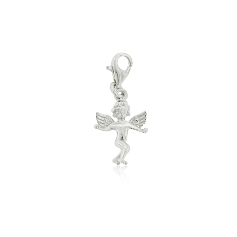 Colgante Plata Italiana 925 Angel