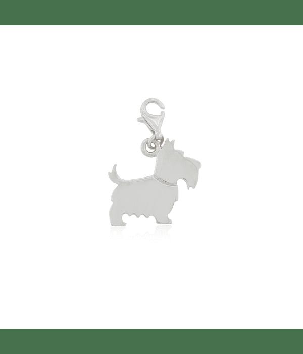 Colgante Plata Italiana 925 Dog