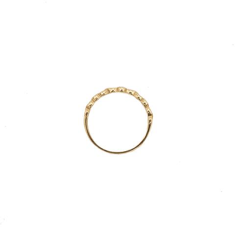 Anillo Oro de 18 Kt. Infinito más Circón 1,6 grs.