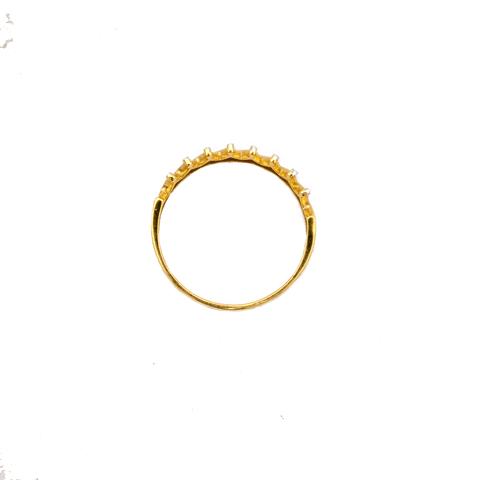 Anillo Oro 18 Kt. Corona 1,5 grs.