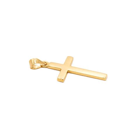 Colgante Oro 18 Kts. Cruz  0,6 grs.
