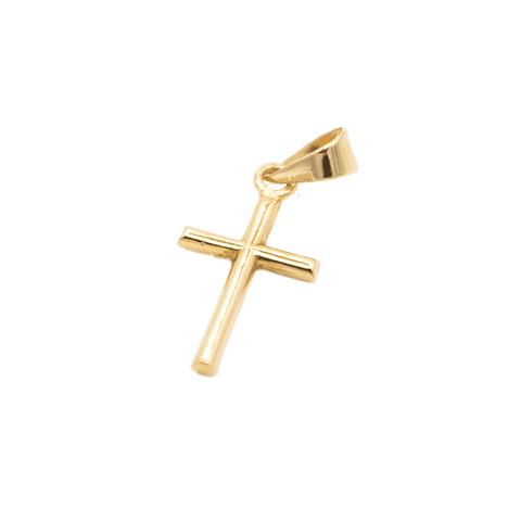 • Colgante Oro 18Kts. Cruz.