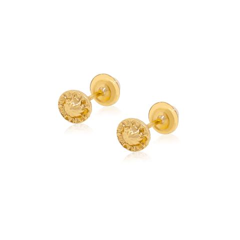 Aros Oro 18kt Perla Cultivada 3,5mm