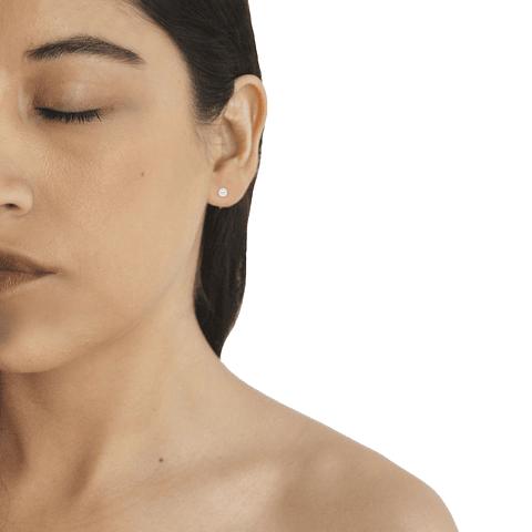 Aros Oro 18kt Perla Cultivada 4,0mm-4,5mm