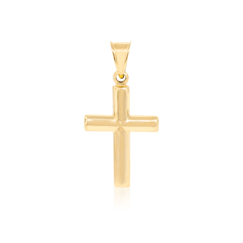 Colgante Oro 18kt Cruz Mediana