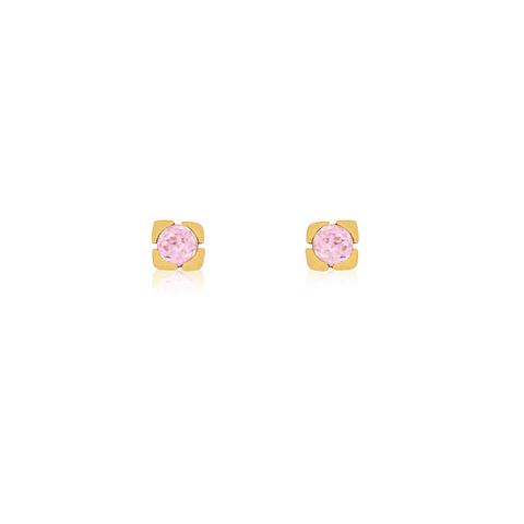 Aros Oro 18kt Rosa de Francia 2,5mm