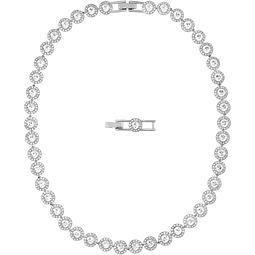 Collar Swarovski Modelo Angelic ,Baño de Rodio