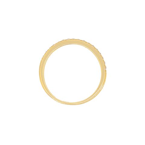 Anillo Oro 18 Kt Modelo Circon