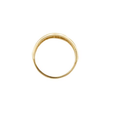 Anillo Oro 18 Kt. Romano Infinito Circón 2,6 grs.