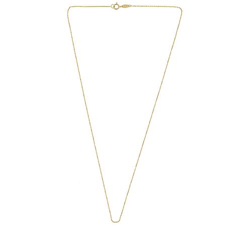 Cadena Oro 18kt Modelo Espejo