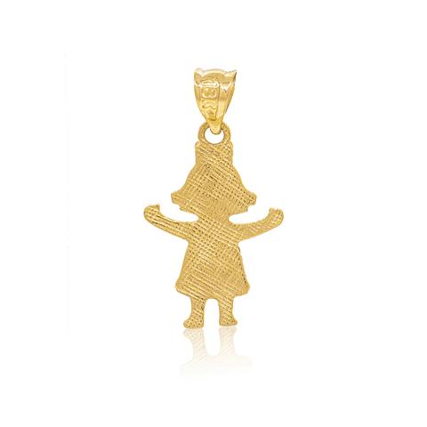 Colgante Oro 18kt Modelo Niña