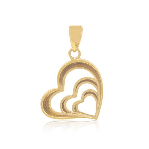 Colgante Oro 18kt  Corazón