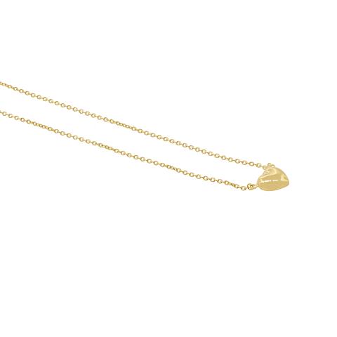 Collar Oro 18kt Corazón